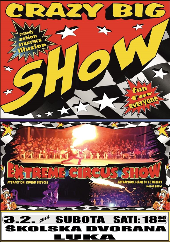 Photo of Extreme Cirkus u Luki