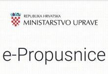 Photo of Ukinute e-Propusnice za područje PP Zaprešić